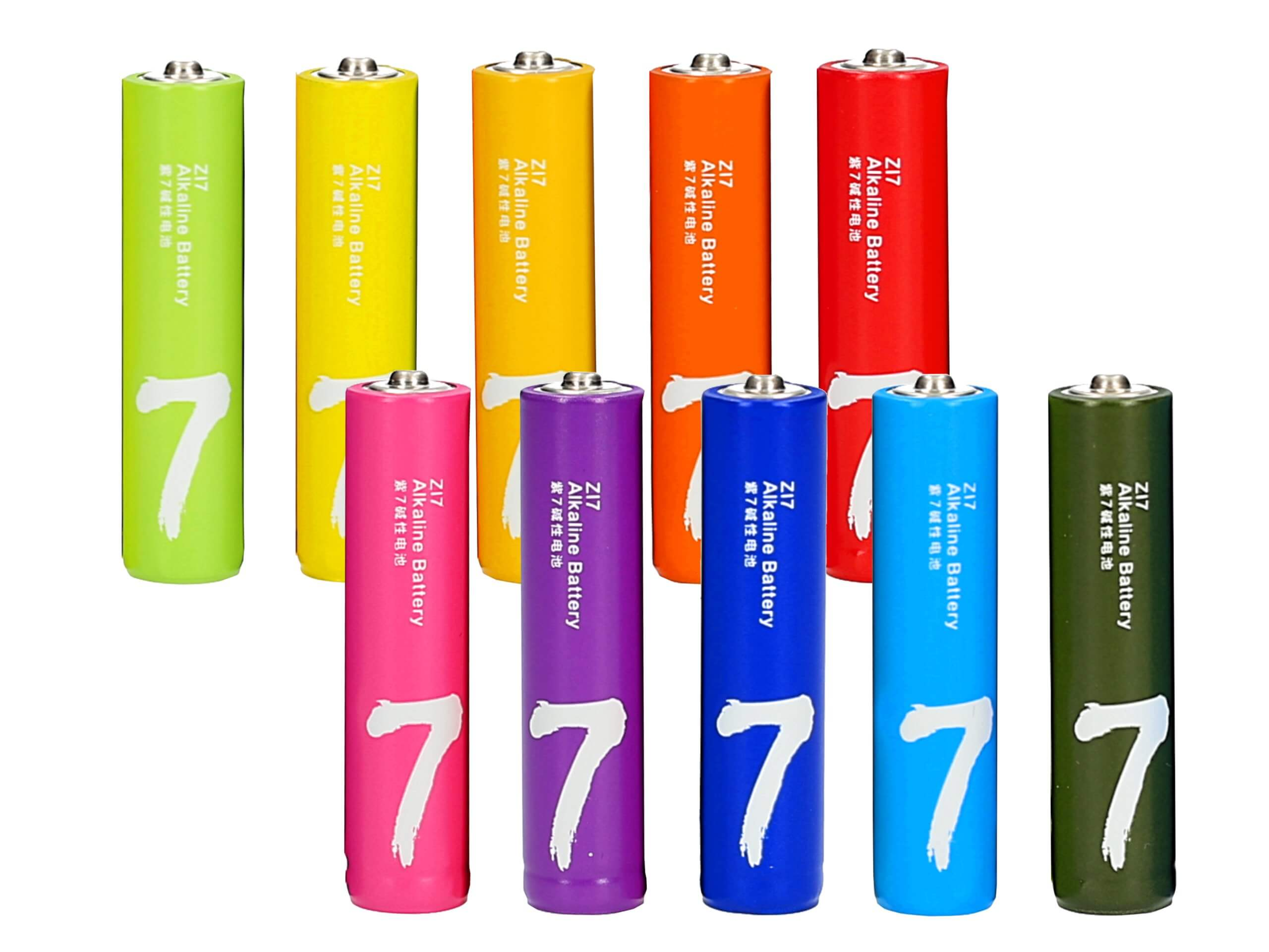 باتری نیم قلمی شیائومی ZI7 بسته 10 عددی